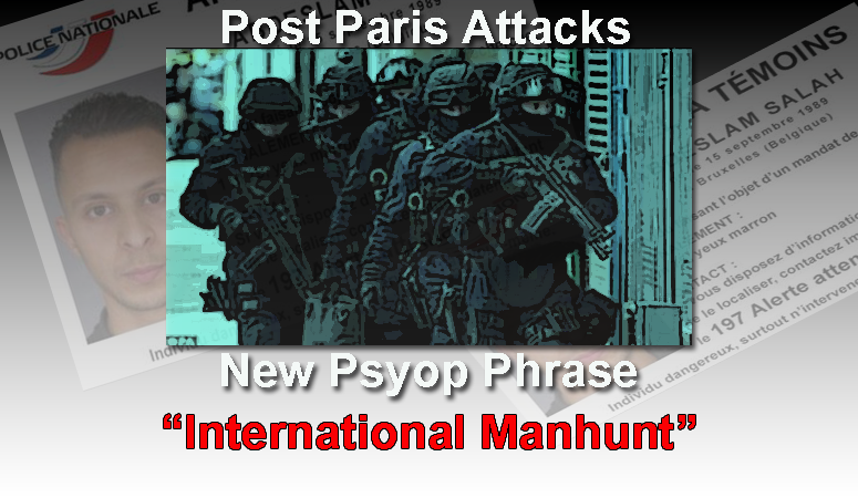 International manhunt