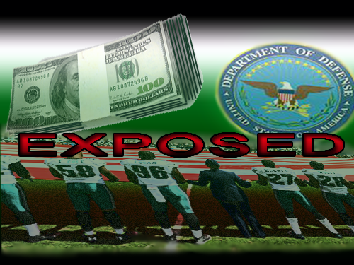 Pentagon funds sports